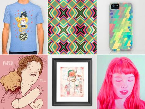 society 6 graphics