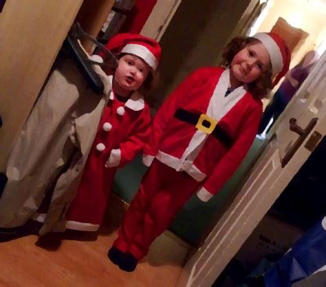 Santa and the Mrs